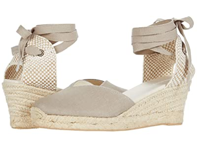 Soludos Lyon Wedge Espadrille (Dark Safari) Women