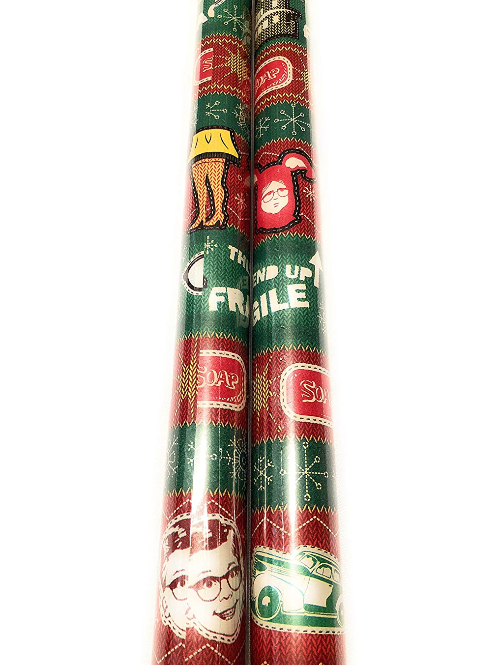 Christmas Story Wrapping Paper - 20 sq ft