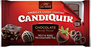 Log House Chocolate Candiquik, 16-Ounce Packages (Pack of 6)