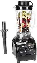 Ultratec Batidora de vaso 2 litros - batidora de alta potencia con 1500 vatios o 2 CV - batidora con 32000 U/min, con recetario de smoothies, picadora, batidora, batidora de cocina