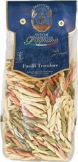 Antiche Tradizioni di Gragnano Fusilli Tricolore Italian Durum Wheat Semolina Pasta Bronze Die - 500 gm