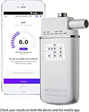 [Upgraded V2] KETOSCAN Mini Breath Ketone Meter | FDA Class 1 Approved | Monitor Your Fat Metabolism or Level of Ketosis on Low carb, Ketogenic, Paleo Diet or Any Nutrition and Fitness Program