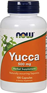 NOW Foods Yucca - 500 mg - 100 Capsules