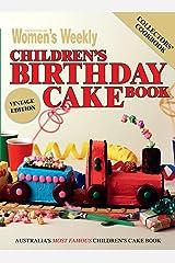 Children's Birthday Cake Book - Vintage Edition Paperback