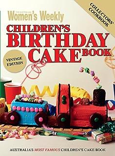 Children's Birthday Cake Book - Vintage Edition