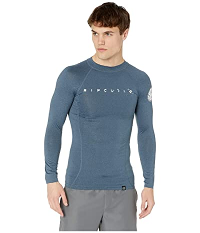 Rip Curl Dawn Patrol UV Tee Long Sleeve (Navy Marle) Men