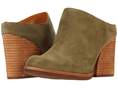 Kork-Ease Challis (Green (Herb) Suede) Women