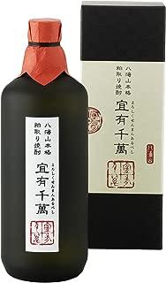 八海山本格粕取り焼酎「宜有千萬」720ml