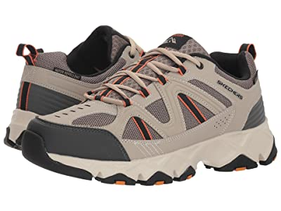 SKECHERS Crossbar (Taupe/Black) Men