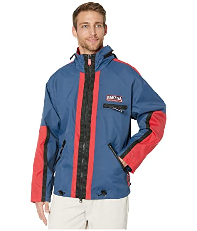 Nautica Competition Lightweight Workshirt Jacket (Blue) Men
