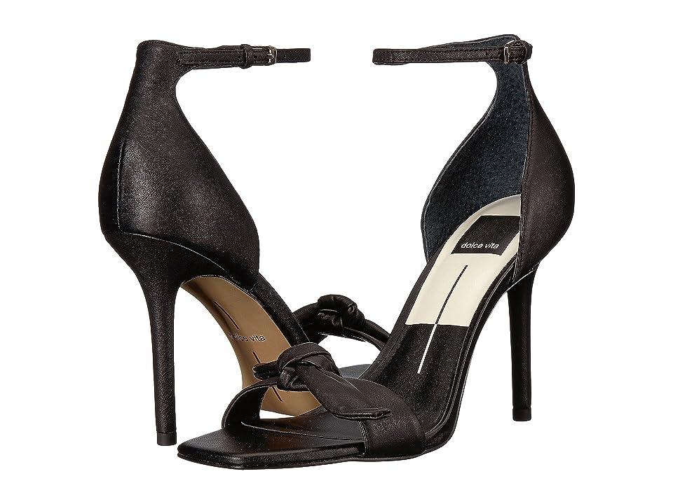 Dolce Vita Helana (Black Leather) Women