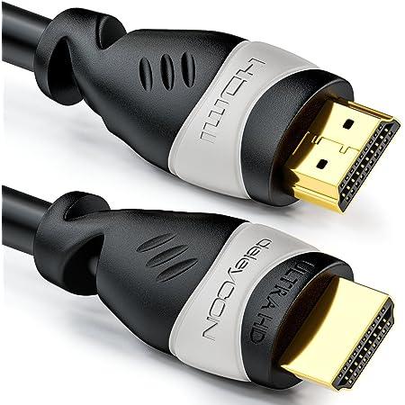 Deleycon 7 5m Hdmi Kabel Kompatibel Zu Hdmi 2 0a B Elektronik