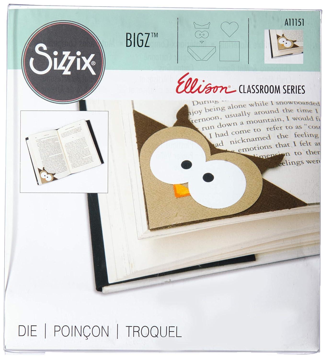 Sizzix A11151 Bigz Die Corner Owl Bookmark