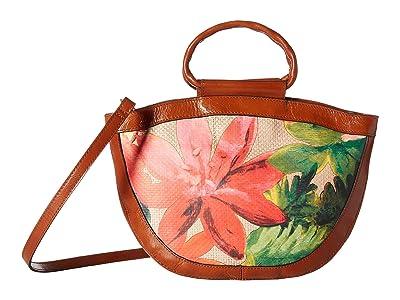 Patricia Nash Straw Ossi Crossbody (Spring Multi) Cross Body Handbags