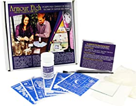 Armour Etch 10-0101 93 Piece Deluxe Glass Etching Kit, Multicolor