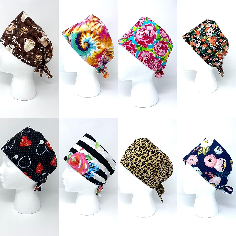 Sale Women's Surgical Hat Luxury goods Unisex Cheetah Scrub Style