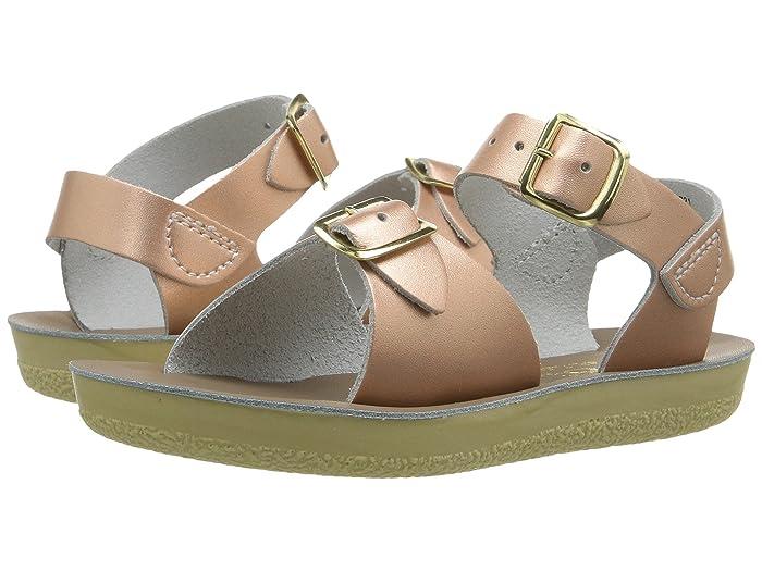 Salt Water Sandal by Hoy Shoes  Sun-San - Surfer (Toddler/Little Kid) (Rose Gold) Girls Shoes