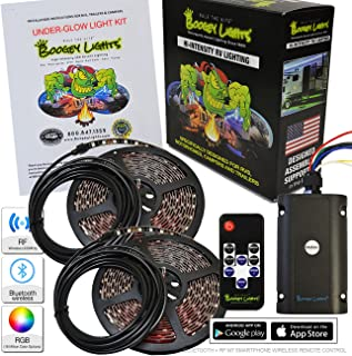 Boogey Lights KRV-VS-MC-BK-UGLOW-M7-HD Multi-Color Under- Under-Glow LED Light Kit