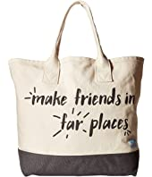 TOMS - Printed Canvas Tote