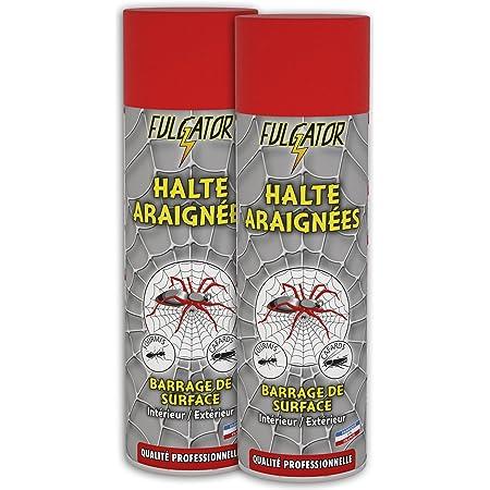 Fulgator - Insecticide Barrage - Halte Araignées - Barrage Action 3 Mois - 500 ml - Lot de 2