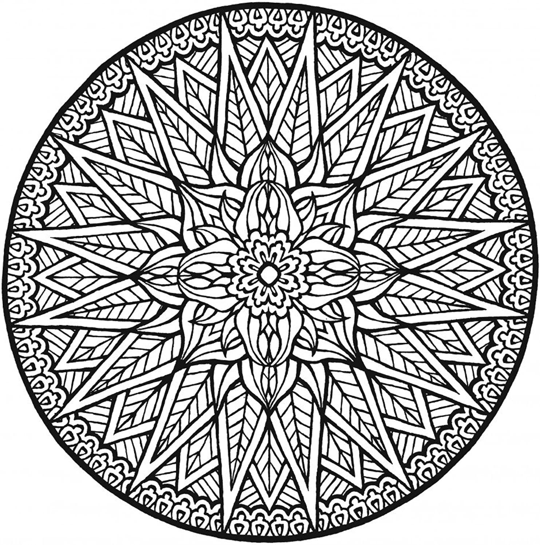 Lebensfreudeladen Mandala Leinwandmalvorlage 338 100 x 100 cm B00G2AMJD8   Schöne Farbe
