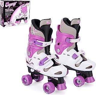 Osprey Kids Roller Skates, Adjustable Roller Skates Girls, Quad Skate Design
