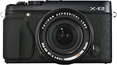 Fujifilm X-E2 16.3 MP Mirrorless Digital Camera with 3.0-Inch LCD and 18-55mm Lens (Black)