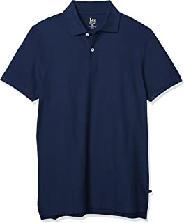 Brand New Men/'s Weird Fish Navy Blue Cotton Polo Shirts Sizes M to 5XL