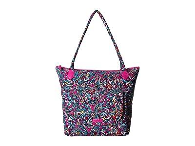 Vera Bradley Carson North/South Tote (Kaleidoscope) Tote Handbags