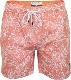 Tokyo Laundry Mens 'Konstanz' Hawaiian Floral Swim/Board Shorts