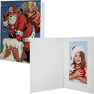 Neil Enterprises 4x6 Santa Claus Photo Folder - Pack of 100