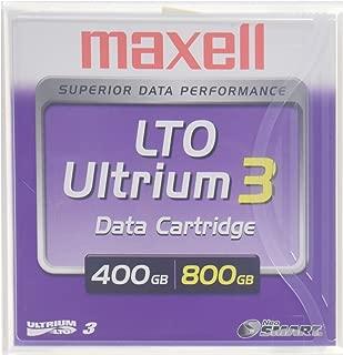 Maxell MAX183900 LTO Ultrium 3 Tape Cartridge