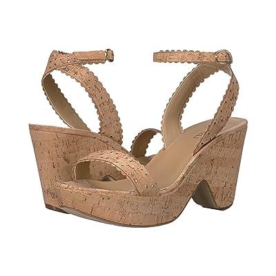 Vaneli Ephie (Natural Cork/Platino Metallic Nappa) High Heels