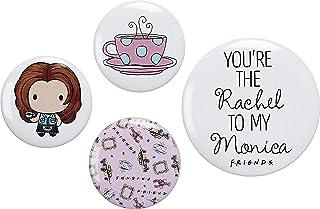 The Carat Shop - Juego de insignias con botón de Rachel