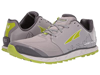 Altra Footwear Superior 4 (Gray/Lime) Men