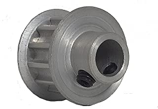 BandB Manufacturing 72XL037M6WA12 Timing Pulley XL Pitch for 0.375 Wide Belts 1 Flange and Hub Serves as Second Flange 72 Teeth