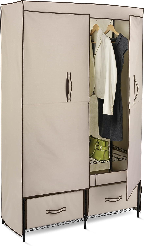 Honey-Can-Do Portable Wardrobe Closet Storage Max 58% OFF Ranking TOP4