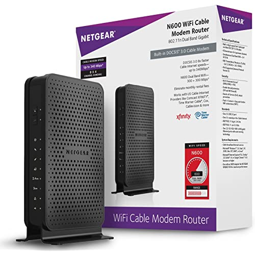 Xfinity Cable Modem and WiFi Router: Amazon com