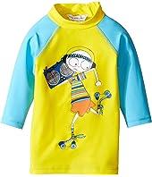 Little Marc Jacobs - Swimsuit Long Sleeve Tee Shirt (Infant)