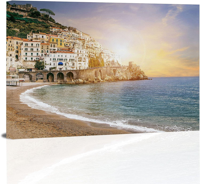 mart beautiful landscape of amalfi coast ital mediterranean sea south Chicago Mall