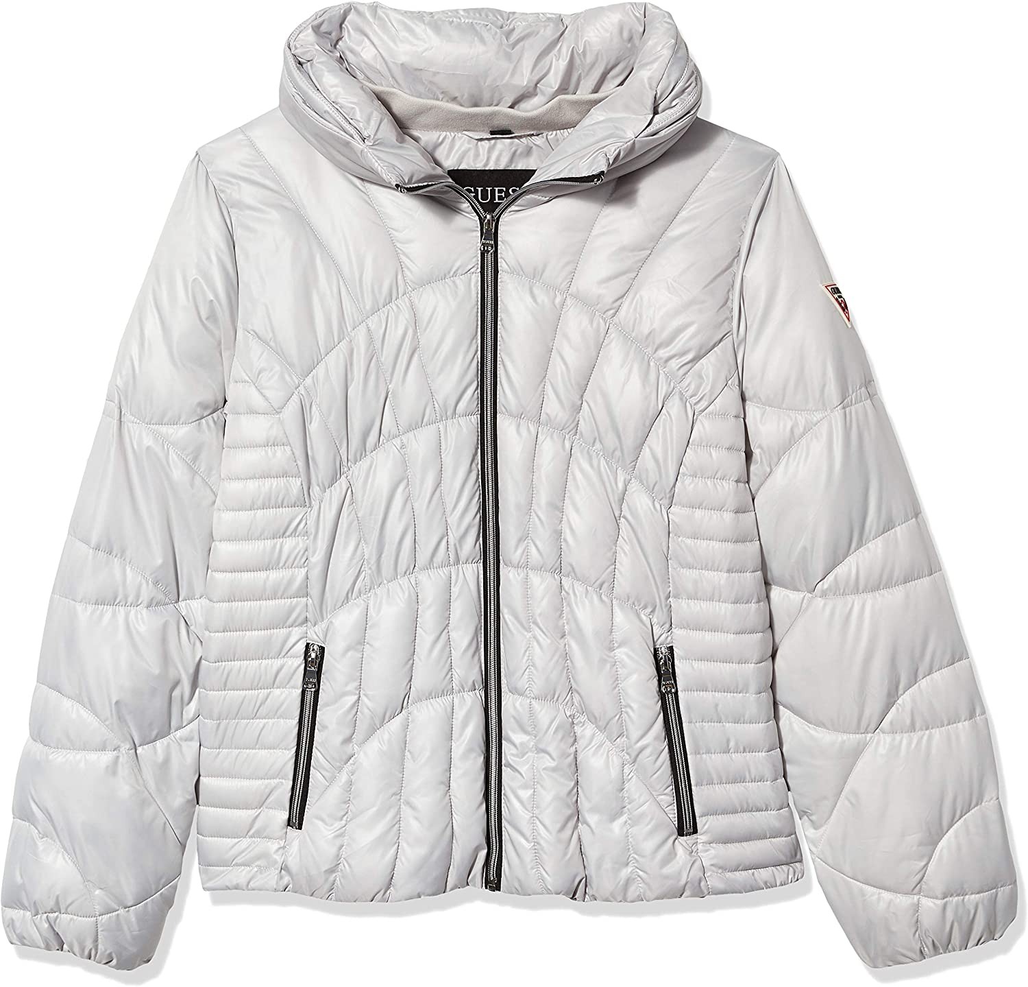 GUESS Women's Quilted Puffer Jacket