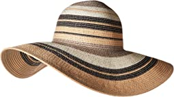 Metallic Stripe Hat