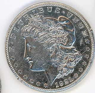 1921 D Morgan Dollar $1 Very Fine