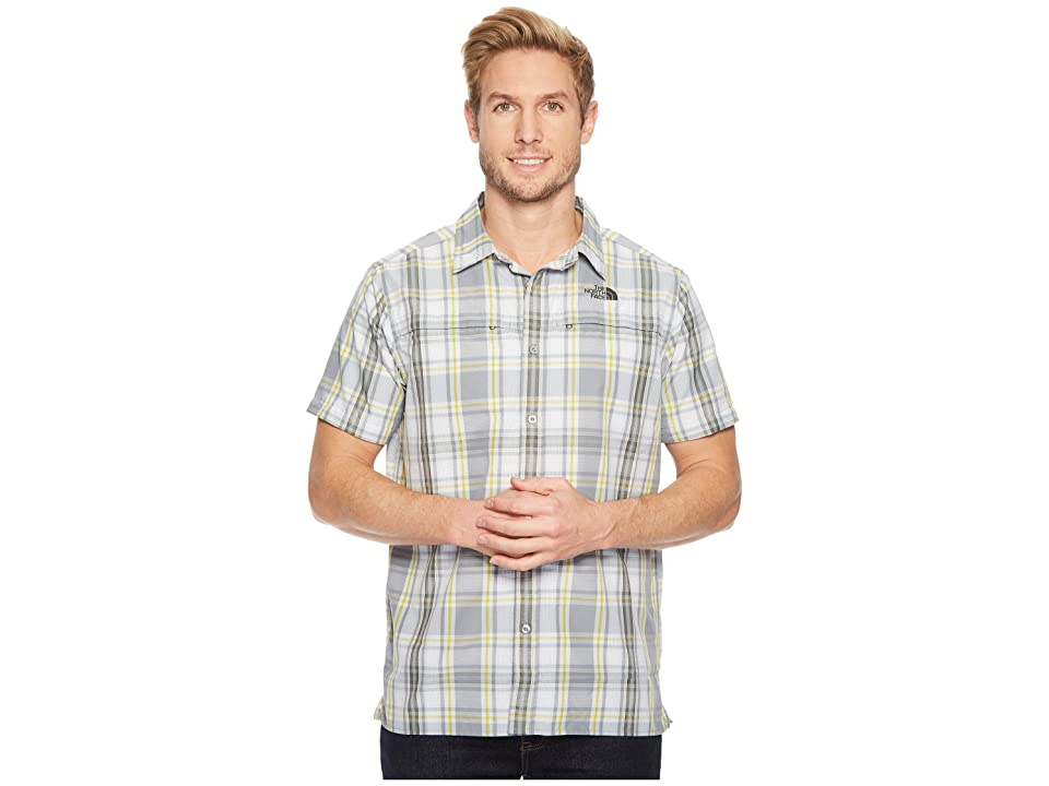 The North Face Short Sleeve Vent Me Shirt (Mid Grey Plaid) Men