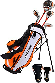 شرکت PreciseGolf Precision X7 Junior Complete Club Golf Club مخصوص کودکان و نوجوانان - 3 گروه سنی پسران و دختران - دست راست و چپ!