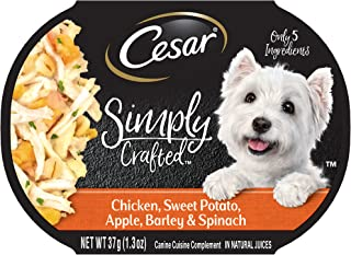 Cesar Simply Crafted Wet Dog Food – 1.3Oz Trays (Pack Of 10)