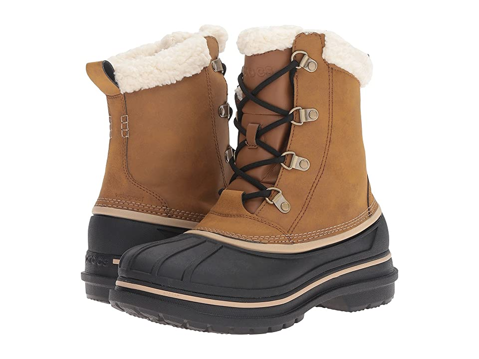 Crocs AllCast II Boot (Wheat/Black) Men