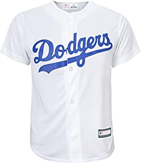 MLB 8-20 Youth Blank Cool Base Home Color Team Jersey
