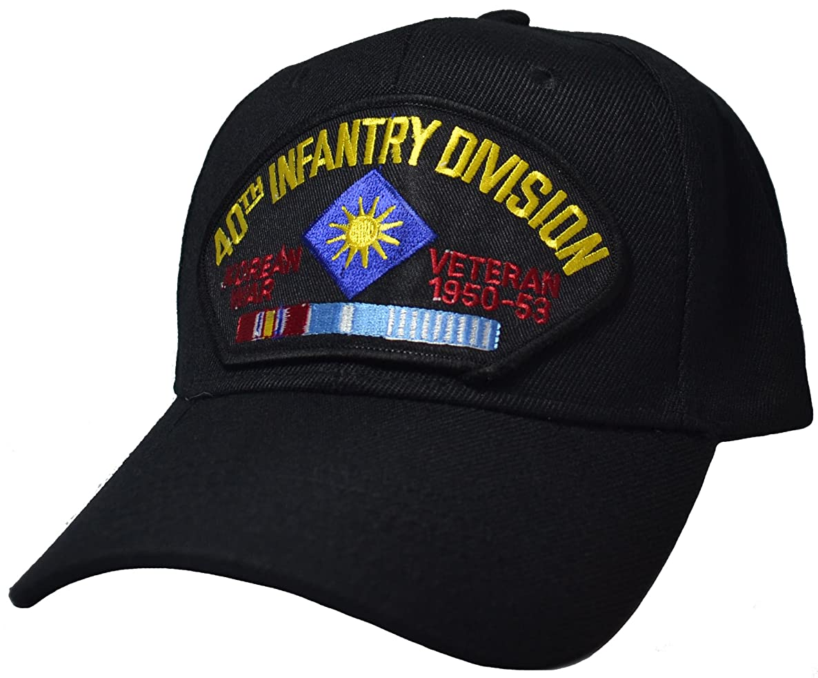 40th Infantry Division Korean War Veteran Cap