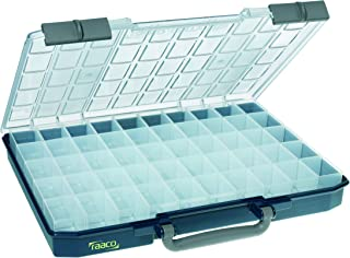 Raaco 136280 - Caso surtido carrylite 55, 5x10-50, azul,